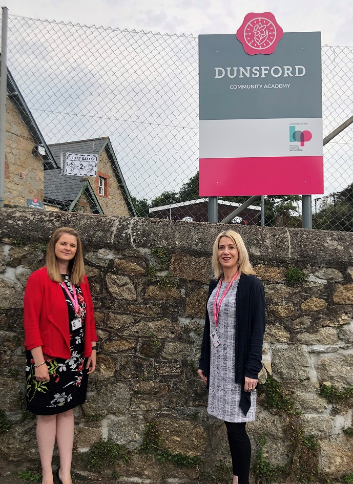 Dunsford Community Academy welcomes a new Head for the new term