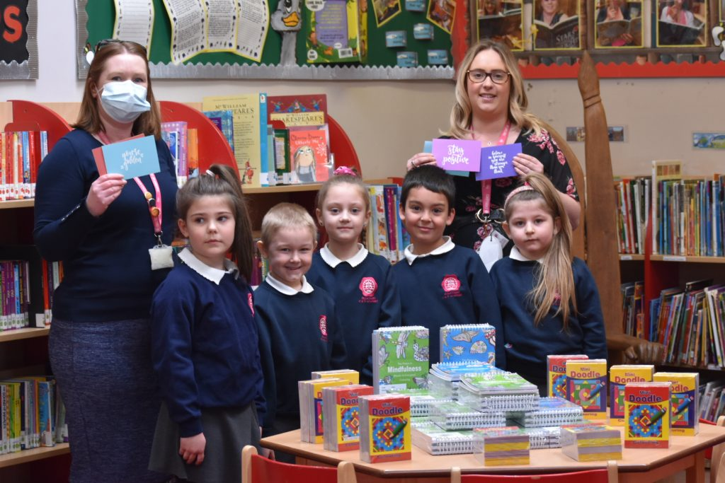 Former pupil invests in 'welcome-back wellbeing packs' for children at Ellacombe Academy