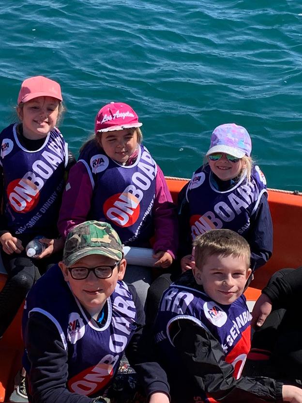 Anchors Aweigh! Devon primary pupils set sail
